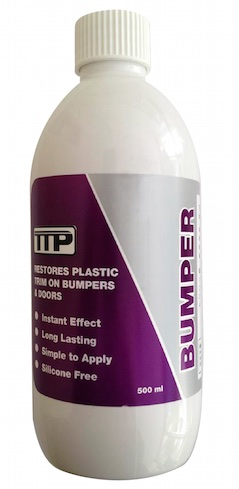 Close up TTP BUMPER 500ml mottle of Bumper Gel
