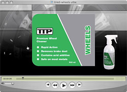 TTP WHEELS alloy wheel cleaner video icon