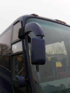 Coach mirror housing repair