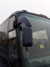 Coach mirror housing repair