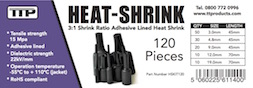 Label for TTP Heat shrink 120 piece kit