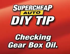 gearbox oil leak check